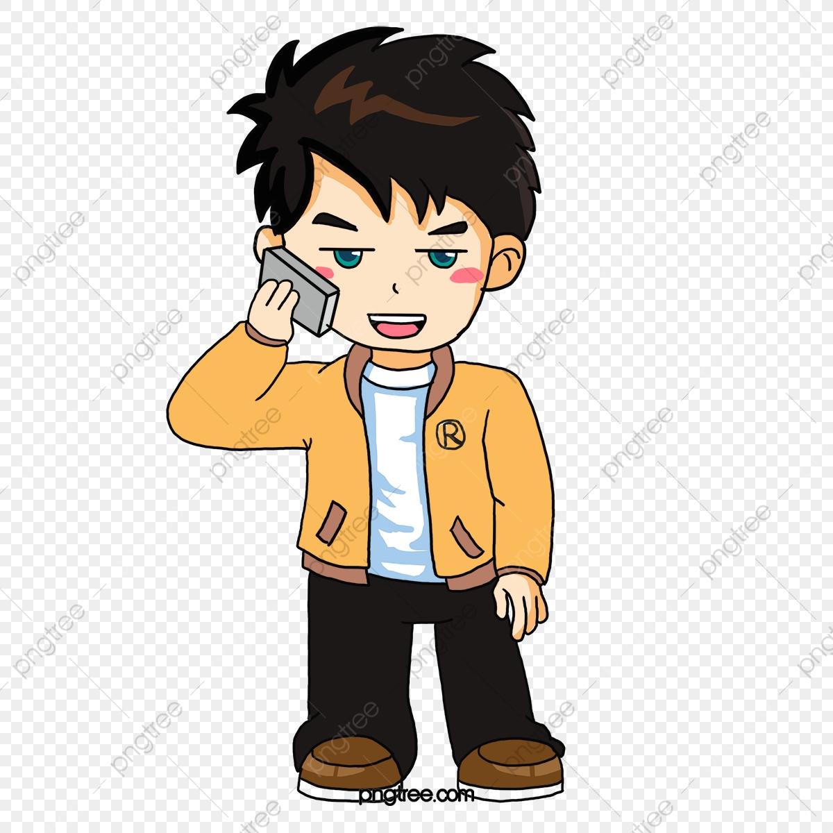 Call Boy, Boy Clipart, Cartoon Characters, Illustration PNG.