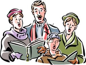 Old People Singing Clip Art.