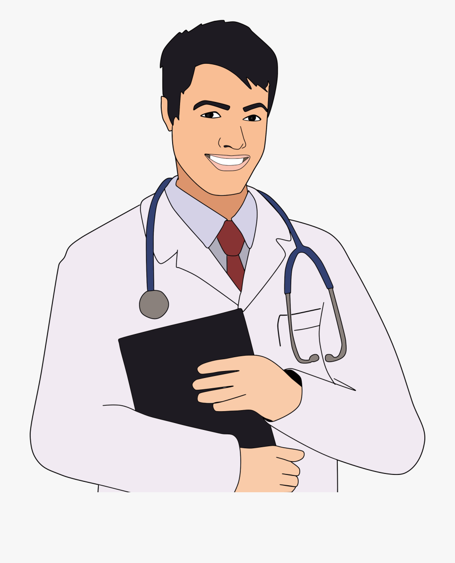 Male Doctor Clipart.