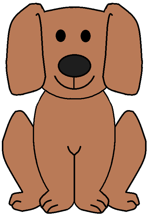 Transparent Dog Clipart.