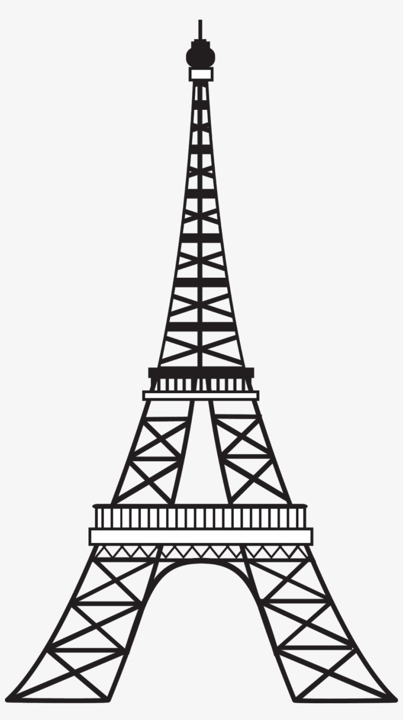 Free Eiffel Tower Png Transparent Image.