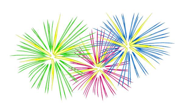 Fireworks clipart free clip art image.