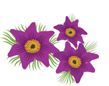 Free Flowers Clipart.