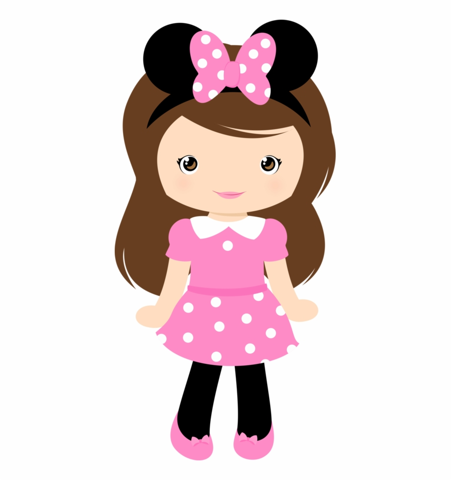 Png Black And White Girls Clipart.
