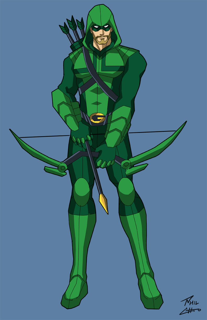 Green Arrow by phil.