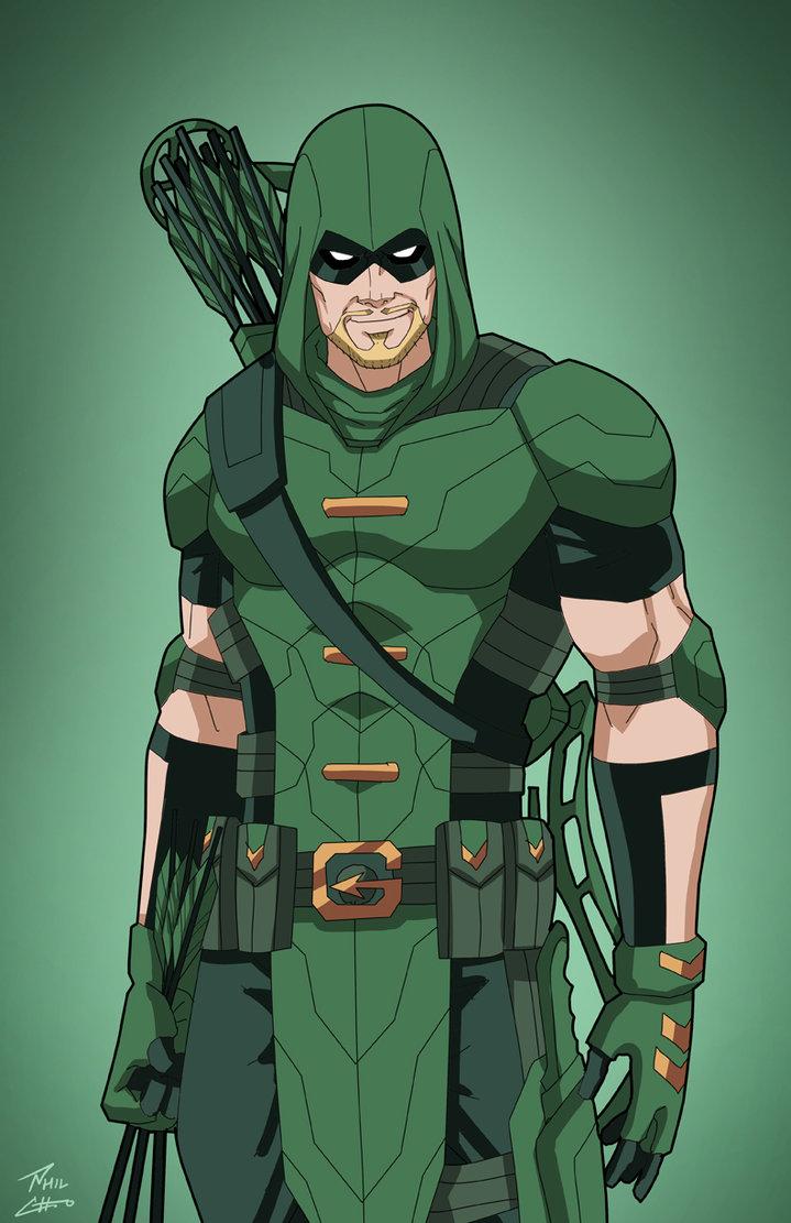 Green Arrow (Earth.