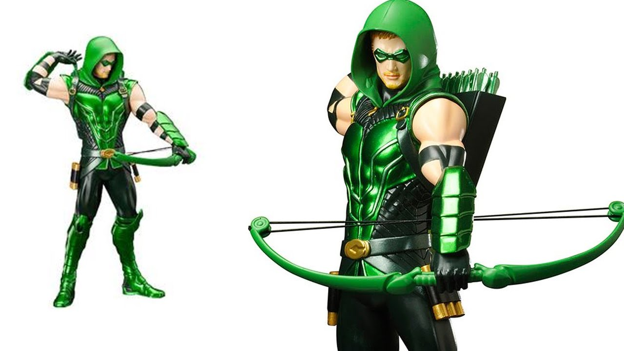 Green Arrow Cartoon.