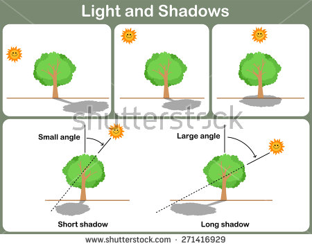 Picture of light and shadow clipart #15
