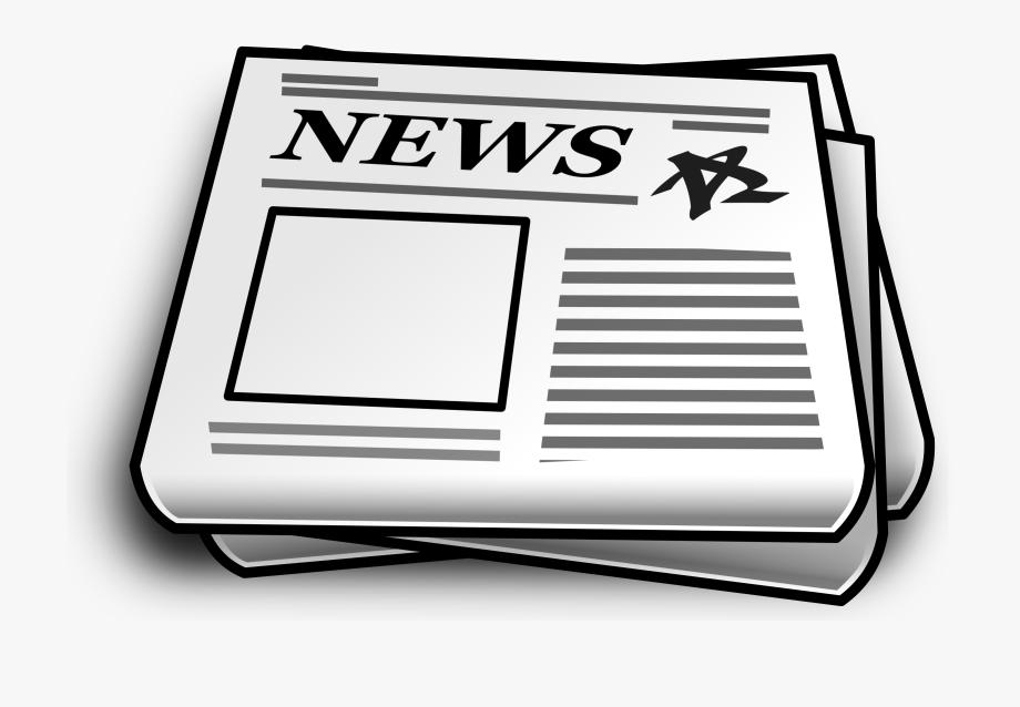 News Clipart Extra Newspaper.