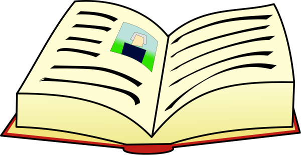 Pictures Of Open Books.