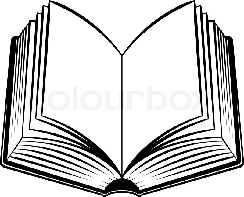 Picture Of Open Books.