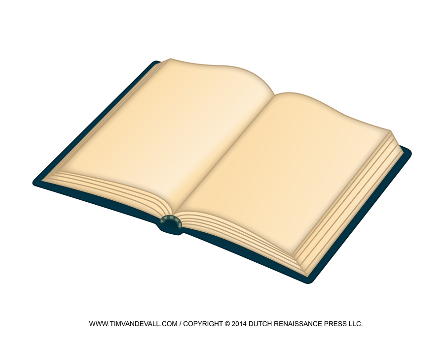 Free Open Book Clip Art Images & Template.