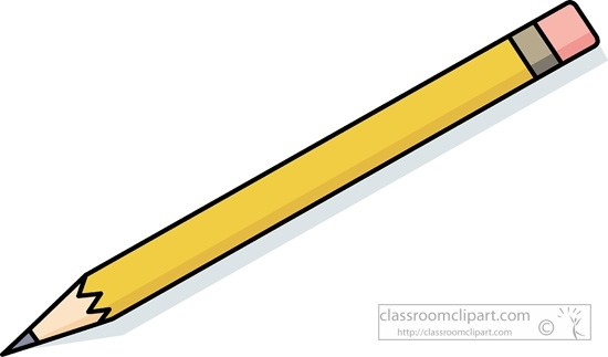 Pencil clipart no background » Clipart Portal.