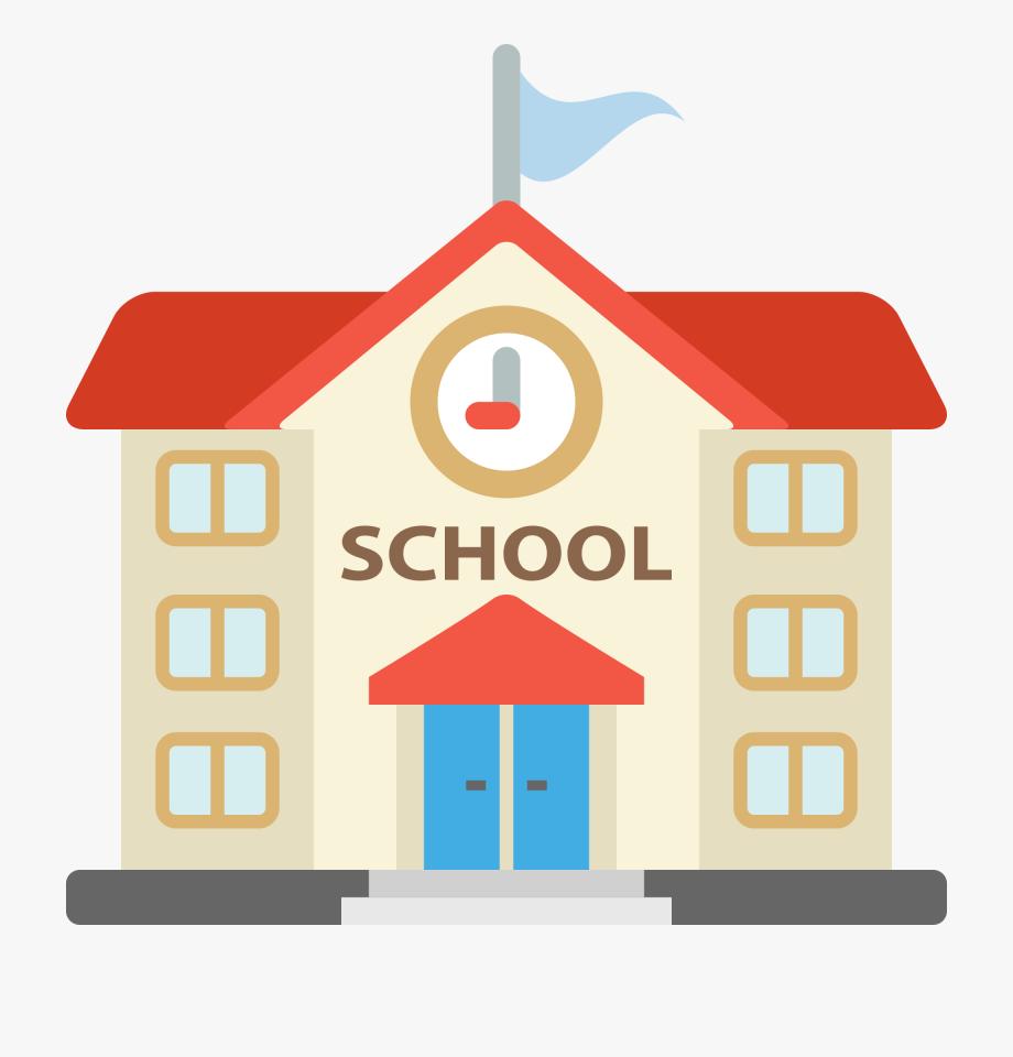 School House Clipart Transparent.
