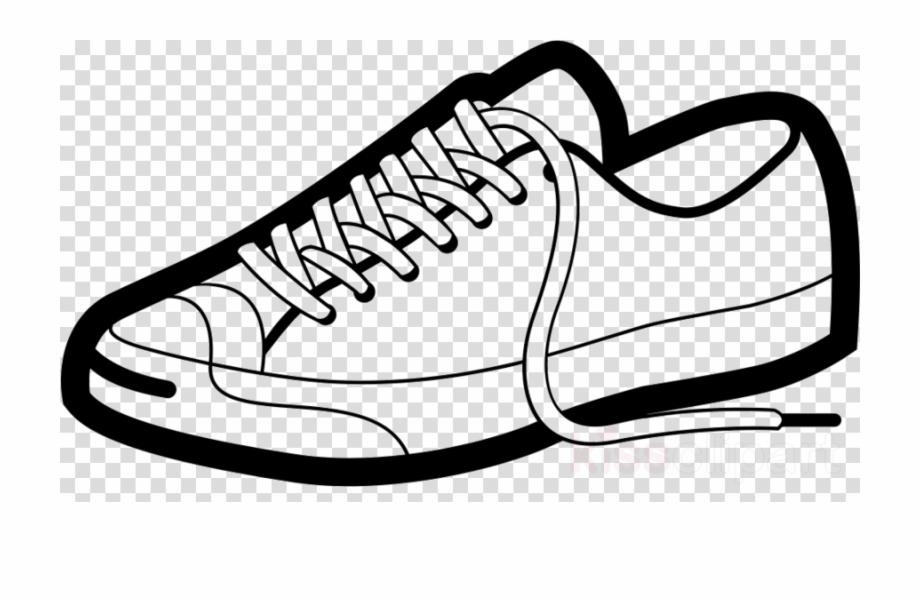 Cartoon Tennis Shoe Clipart Sports Shoes Clip Art.