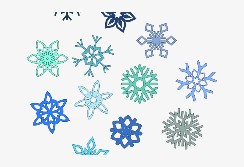 Snowflakes Clipart.
