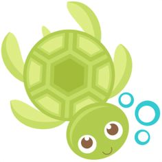 Turtle clip art free cartoon.