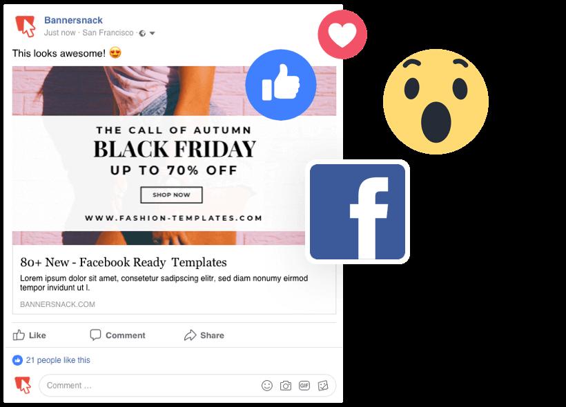 Online Facebook Banner Maker.
