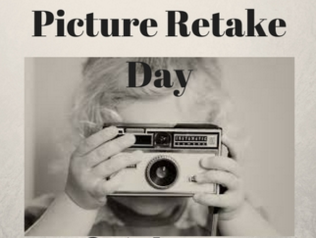 Picture Day Retakes, Tuesday, October 24.