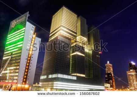 Building The Rotterdam Stock Photos, Royalty.
