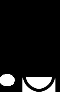 Test Tube Clipart Black And White.