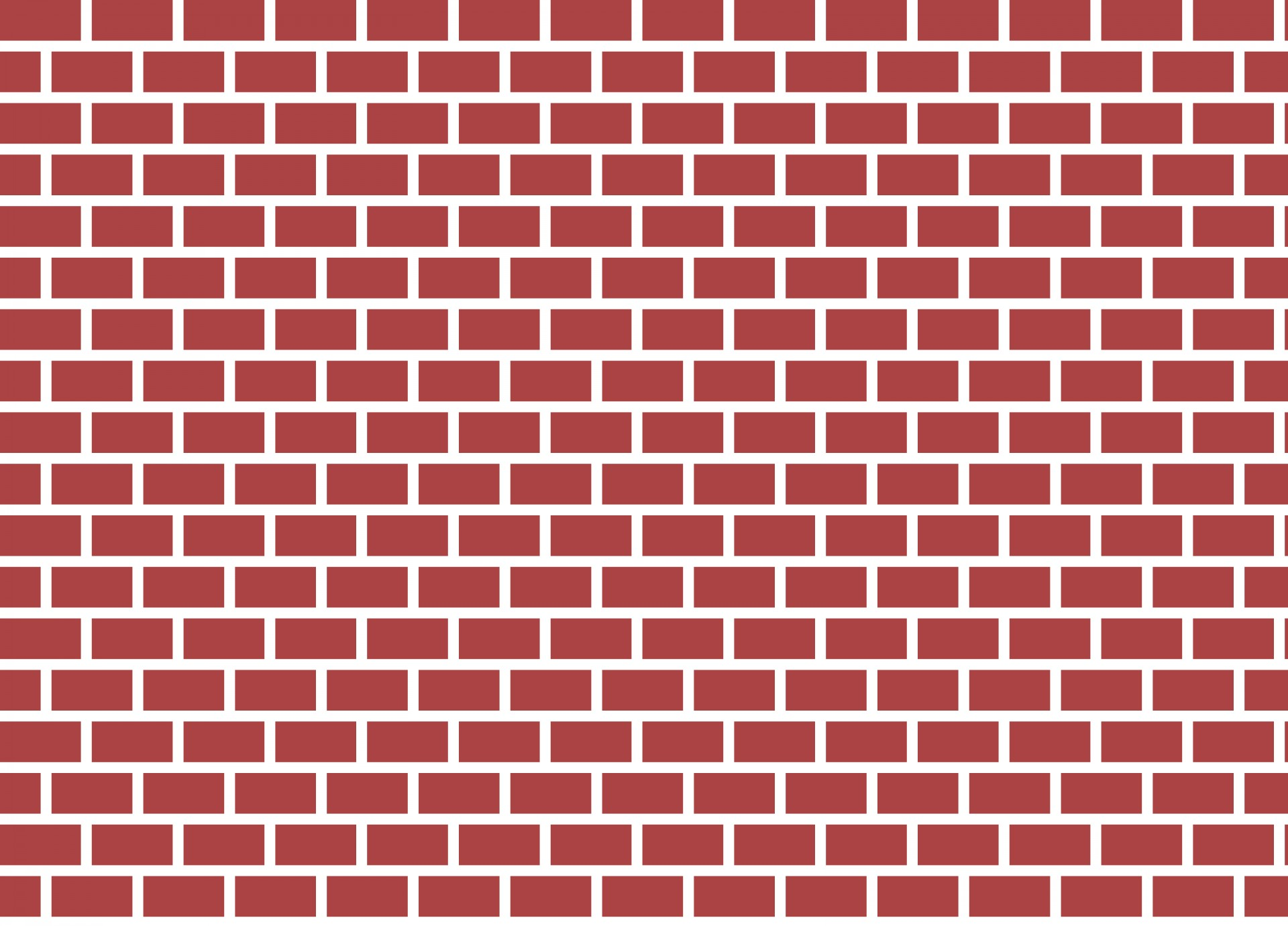 Red Brick Wall Clipart Free Stock Photo.