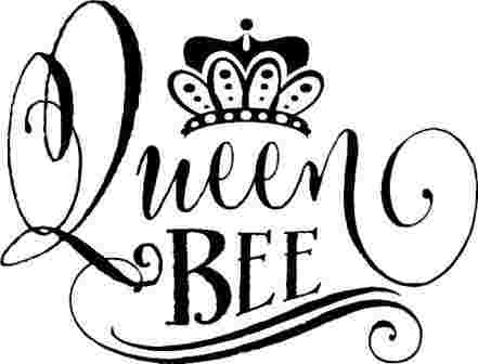 Free Cliparts: Queen Bee Clipart Black And White Pig Top.