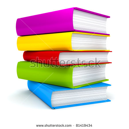 Stack Of Books Stock Images, Royalty.