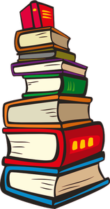 202 books free clipart.
