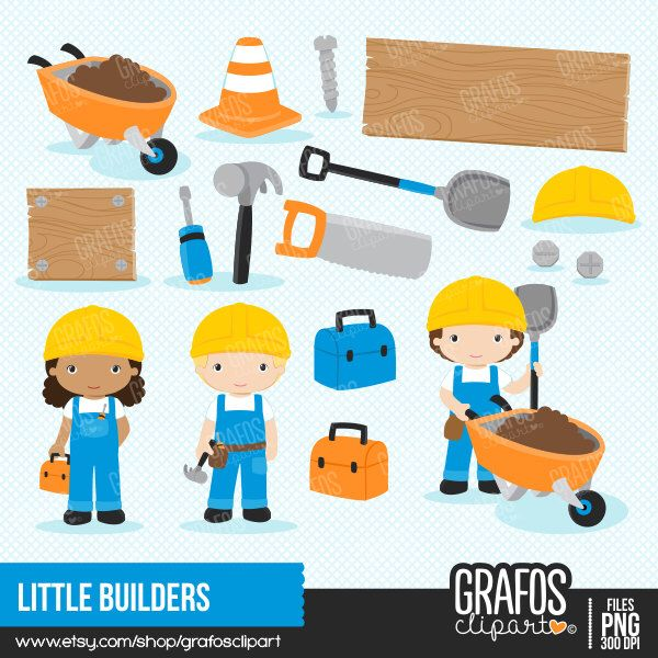 LITTLE BUILDERS.
