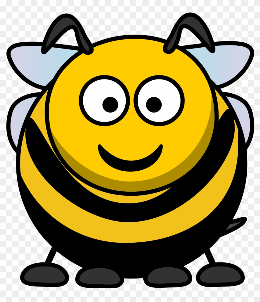 Cartoon Bee Clip Art.