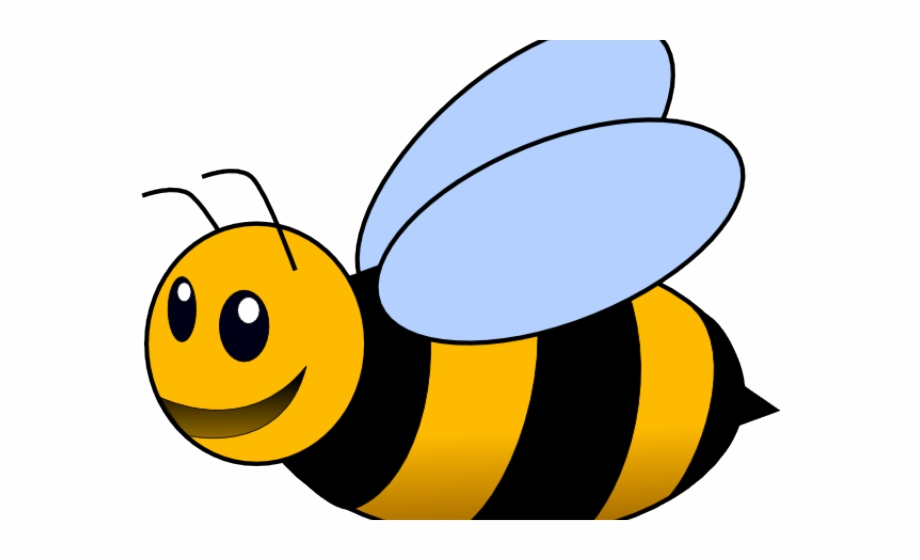 Bee Clipart Transparent Background {#661701}.