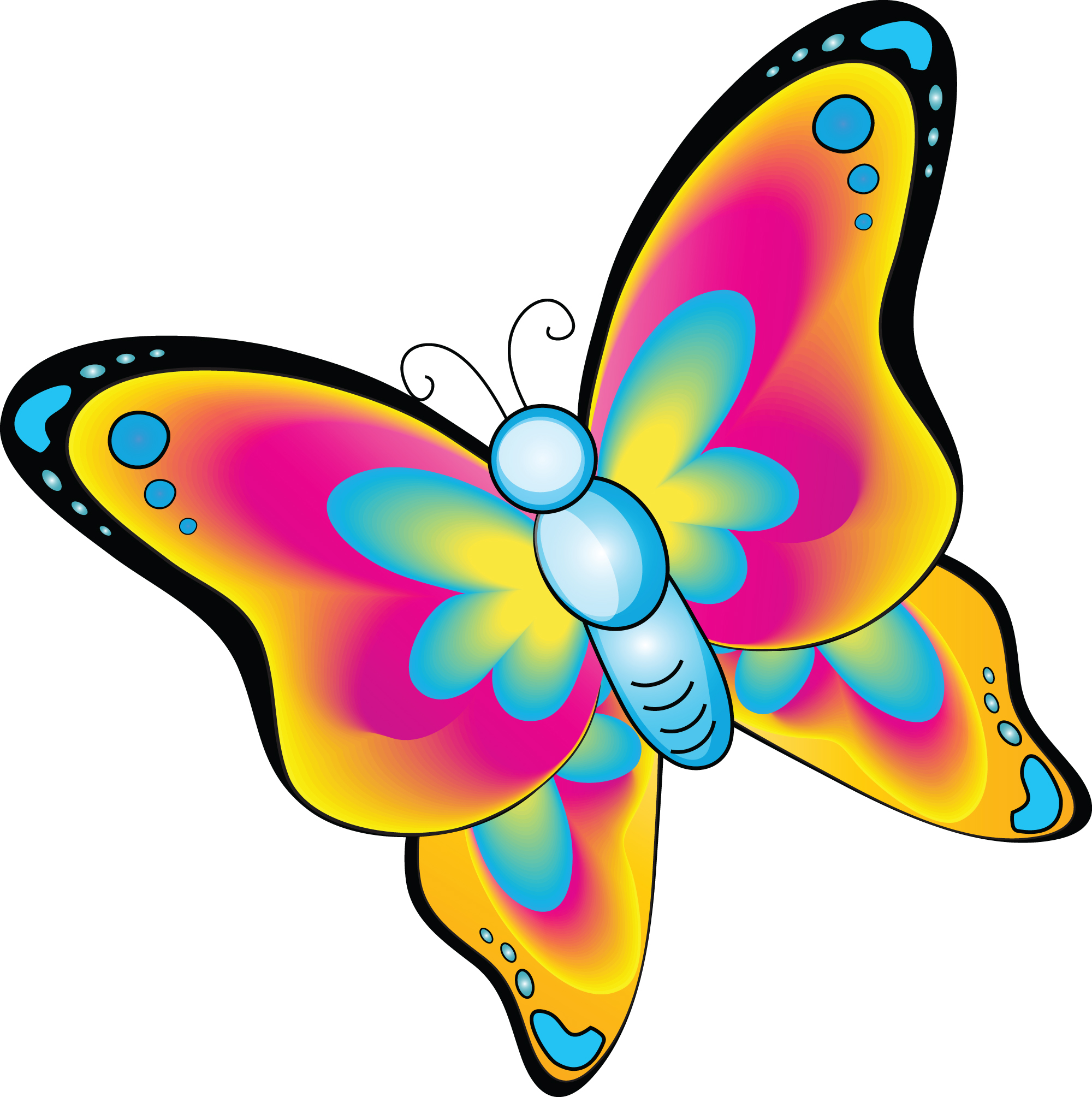 Free Cartoon Butterfly Cliparts, Download Free Clip Art.
