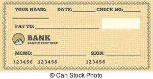 Blank check Clip Art Vector Graphics. 8,815 Blank check EPS.