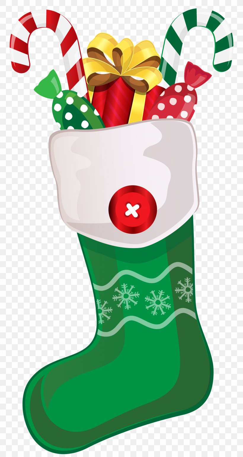 Christmas Stocking Clip Art, PNG, 3221x6053px, Candy Cane.