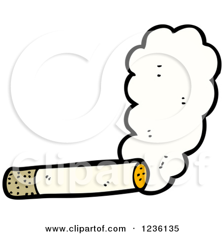 Smoke cigarettes clipart.
