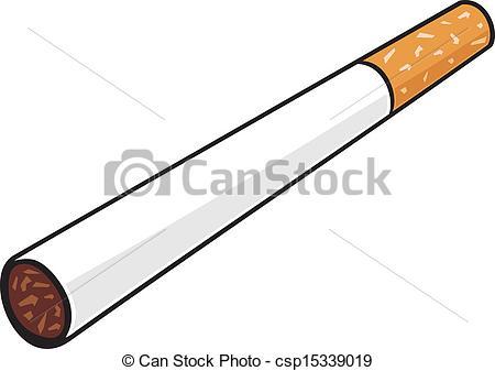 Vector Clip Art of cigarette csp15339019.