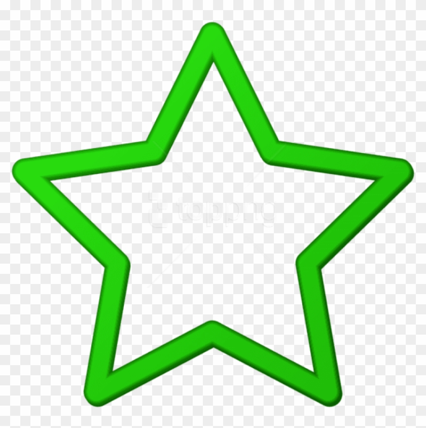 Download Green Star Border Frame Png Clipart Png Photo.
