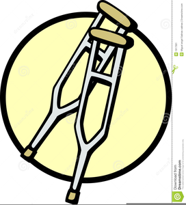 Pictures Of Crutches Clipart.
