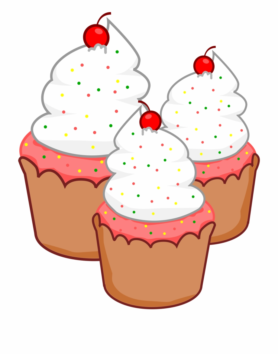 pictures of cupcakes clipart #9
