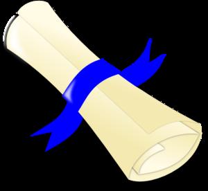 Diploma Clip Art at Clker.com.