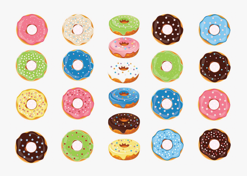 Donut Donuts Clipart Graphics Example Image Transparent.