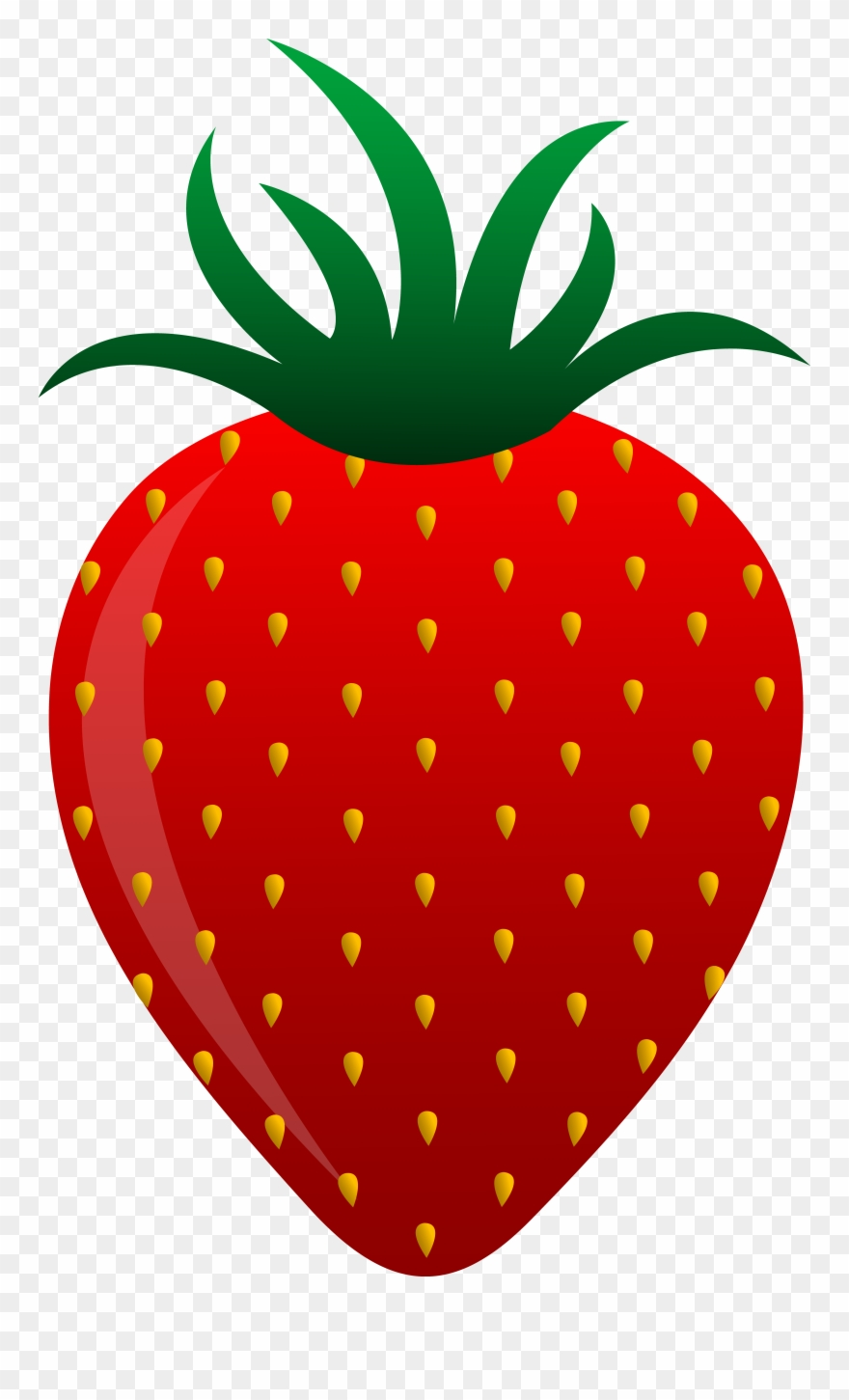 Red Fruits And Vegetables Clipart.