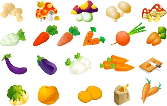 Fruits and vegetables clip art free vector download (220,577.