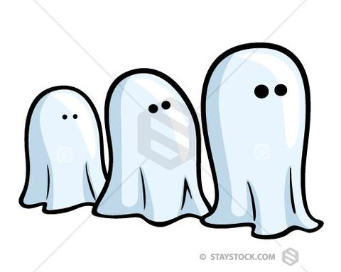 Ghosts Clipart.