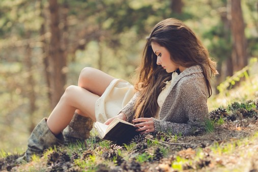 Girl With Book Pictures.