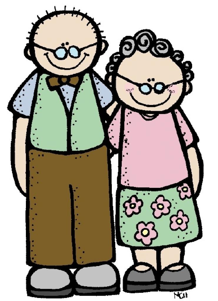 1427 Grandparents free clipart.