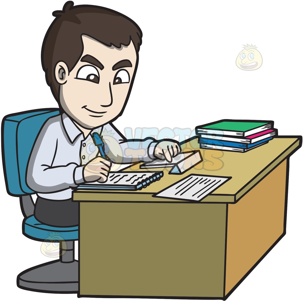Pictures Of Office Workers Clipart.