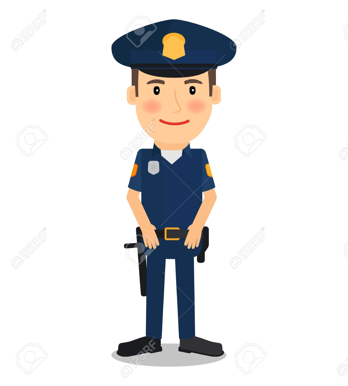 Policeman clipart Best of Cop clipart police officer Pencil.
