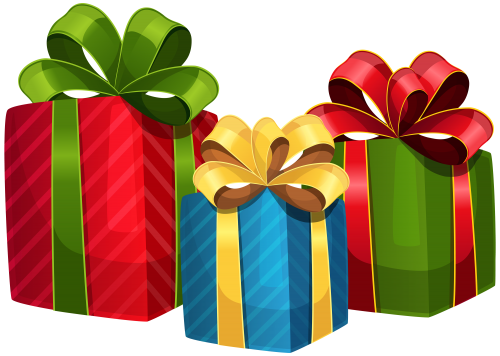 Holiday presents clipart clipart images gallery for free.